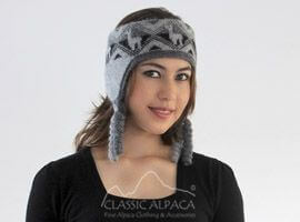 Reversible Alpaca Ethnic Headband