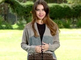 Amelia Alpaca Long Sleeve Cardigan
