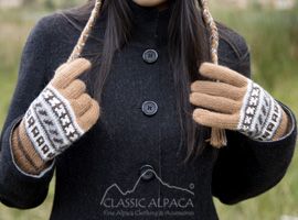 Peruvian Alpaca Gloves