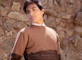 Christopher Alpaca Crewneck Sweater