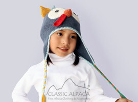 Alpaca Kids - Happy Turkey Hat with Ear Flaps