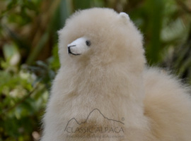 BABY Alpaca Fur - Peruvian Ornament 12 inches
