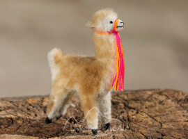 Mini Vicuna-Lamb Wool-Alpaca Fur Toy