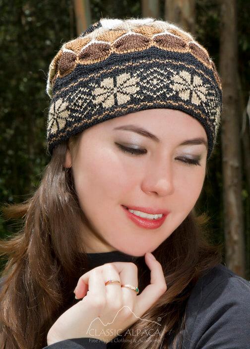 43d4432ecc5 Wholesale Hats  Natura Alpaca Knit Hat - Fleece Lining