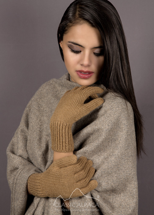 Jersey Alpaca Gloves