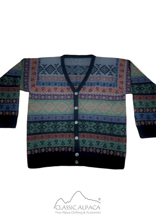 Mountain Alpaca Men's Cardigan