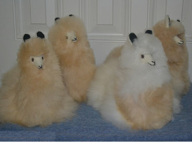 BABY Alpaca Fur - Peruvian Sitting Ornament